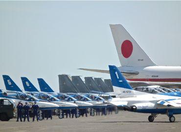 航空祭政府専用機とブルー370.jpg